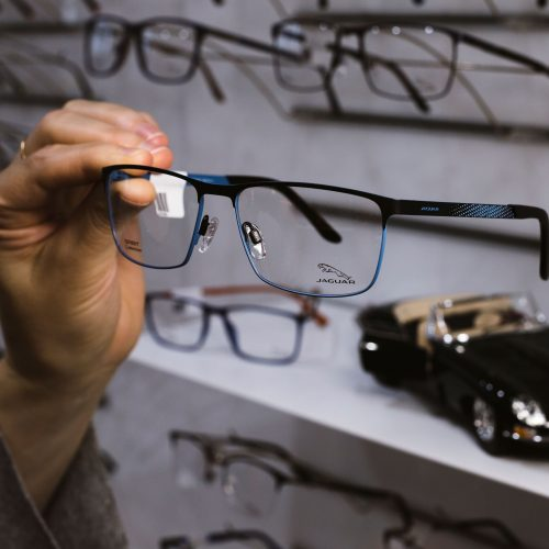 Jaguar products available at Ian Frame EyeCare