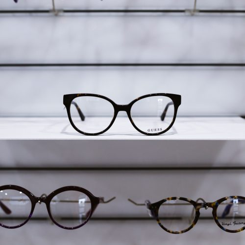 Guess products available at Ian Frame EyeCare